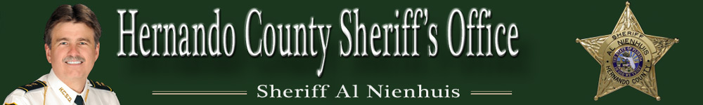 HCSO Sheriff's Office Banner